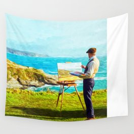 Leisurely Landscaping Wall Tapestry