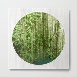 Green Eden Metal Print