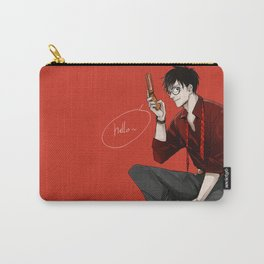 One Piece: Luffy in suit Carry-All Pouch