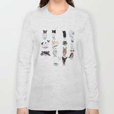 14 Dogs & Kitties Long Sleeve T-shirt