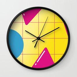 Geometric Calendar - Day 16 Wall Clock