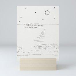 Sea Mini Art Print
