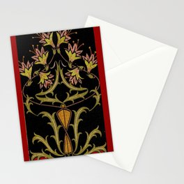 art nouveau Stationery Cards