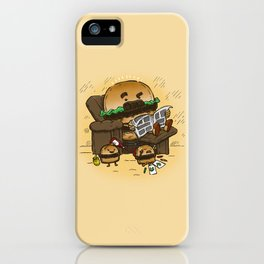 The Dad Burger iPhone Case
