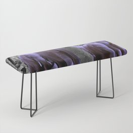 Purple guests Bench
