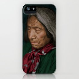 Red Cloud - Oglala American Indian iPhone Case