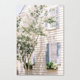 Charleston Dreamy Florals Canvas Print