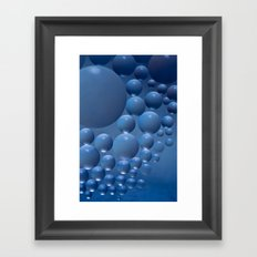 Blue moon. Framed Art Print