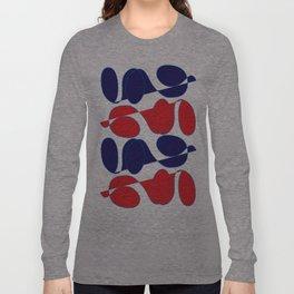 Digital Art_Summertime Bold Palette Long Sleeve T-shirt