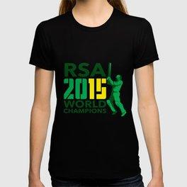 South Africa SA Cricket 2015 World Champions T-shirt