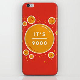 IT'S OVER 9000 (Dragonball) iPhone Skin