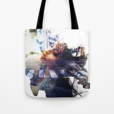collage# street Tote Bag