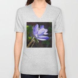 Blue beauty Unisex V-Neck