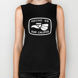 Hecho En Sur Califas So Cal Southern California Republic All Colors california Biker Tank