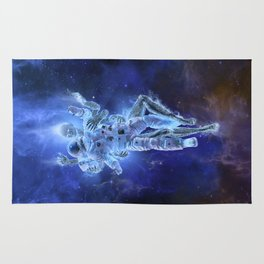 Deep Space Embrace Rug