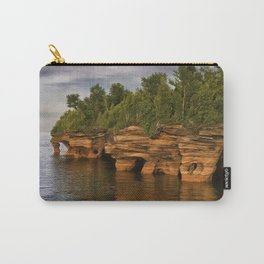Apostle Islands Sea Caves Carry-All Pouch