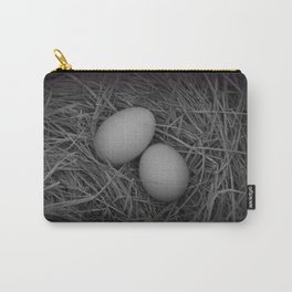 B&W Eggs Carry-All Pouch