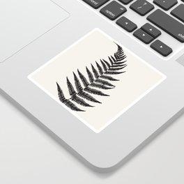 Minimal Fern Leaf Sticker