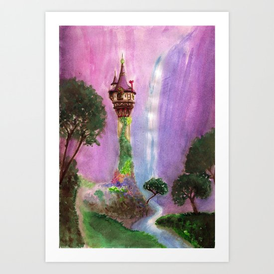 The Mystical Tower Art Print