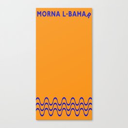 Morna l-Bahar  Canvas Print