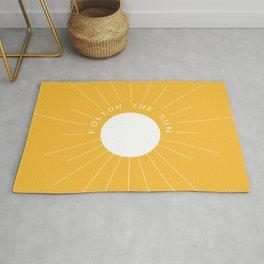 Follow the sun Rug