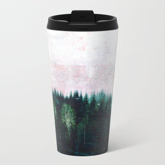 Deep dark forests Metal Travel Mug