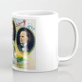 Garfield, Lincoln, and McKinley -- In Memoriam Coffee Mug