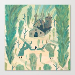 A Wizard's Garden Canvas Print