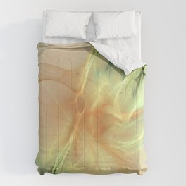 Warm Synergy Fractal Comforters
