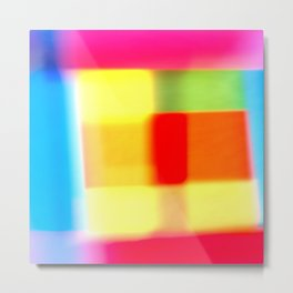 Colored blur background 7 Metal Print