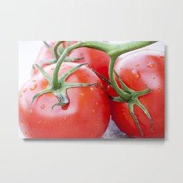Red Tomatoes Metal Print