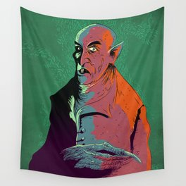 Nosferatu At Rest Wall Tapestry