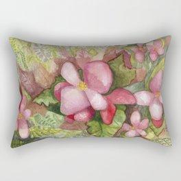 Begonia Beauty Rectangular Pillow