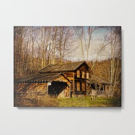 John Burroughs Woodchuck Lodge Metal Print