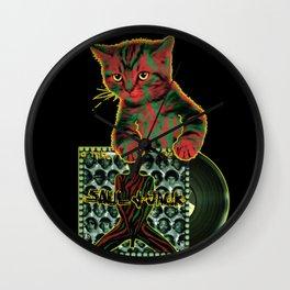 Tribe Cat Wall Clock