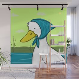 Miss Duck Wall Mural
