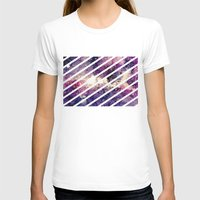 takmaj T-shirts featuring watercolor galaxy by takmaj