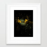 mike wrobel Framed Art Prints featuring Mike by Arian Noveir