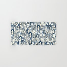 WOMEN OF THE WORLD BLUE Hand & Bath Towel