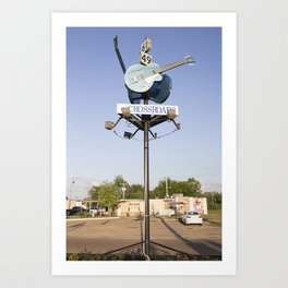 Devil's Crossroads Art Print
