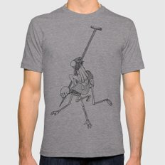 In The Devil's Snare (One) Mens Fitted Tee SMALL Tri-Grey