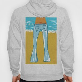 Sexy Blue Jeans Hoody