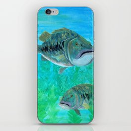 Bass Pairs iPhone Skin