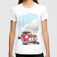 mini T-shirts featuring mini racer by michael cheung