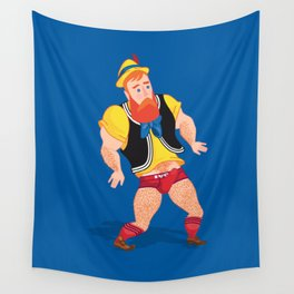 Post-Truth Pinocchio Wall Tapestry