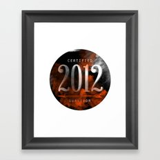 2012 Suvivor Framed Art Print