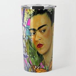 Frida Kahlo Alas Travel Mug