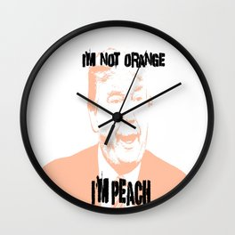 IM PEACH Wall Clock