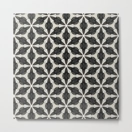 Openwork Abstract Pattern Metal Print