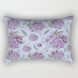 Purple cranberry Rectangular Pillow